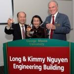 Tòa nhà Long and Kimmy Nguyen Engineering Building ở trường đại học George Mason